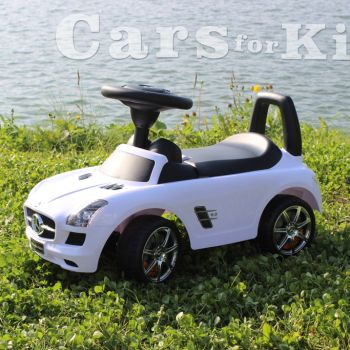 Толокар-Mercedes-SLA-белый