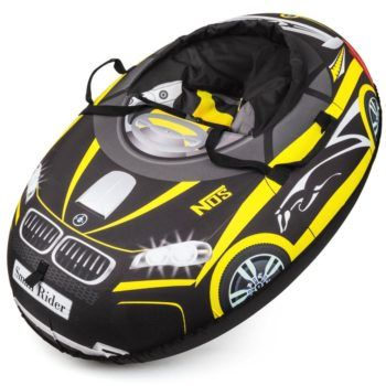 Надувные санки-тюбинг Small Rider Snow Cars в стиле BMW (вес 2.8 кг, нагрузка до 180кг)